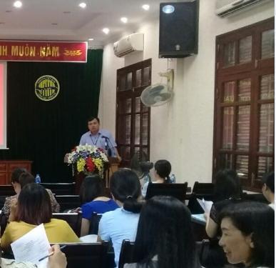 Cục Thống kê Hưng Yên tổ chức tập huấn nghiệp vụ khảo sát mức sống năm 202