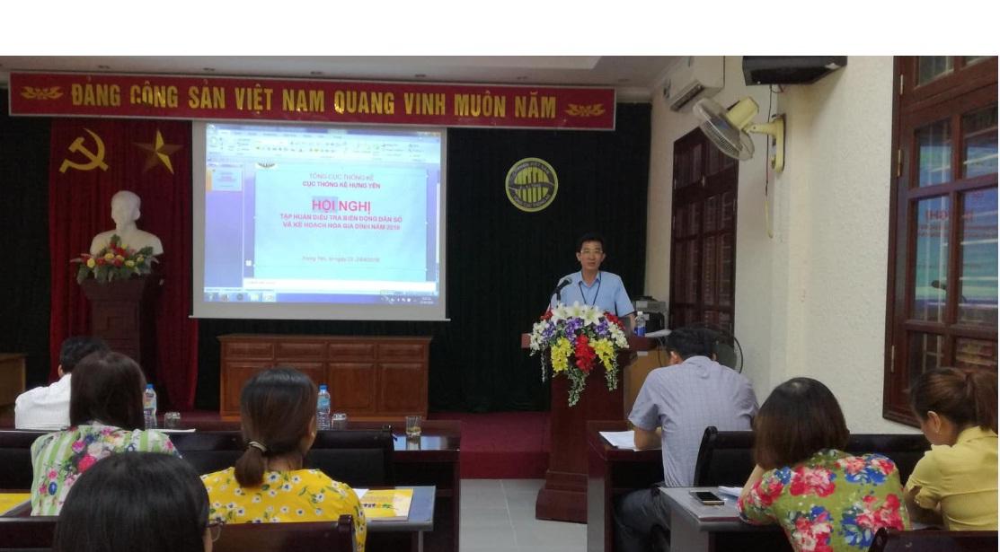 : Hội nghị tập huấn nghiệp vụ Điều tra biến động dân số và kế hoạch hóa gia đình năm 2018